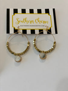 Sara Hoop Earrings