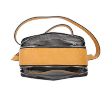 Load image into Gallery viewer, Claire Double Zip Box Crossbody