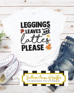 Leggings, Leaves and Lattes
