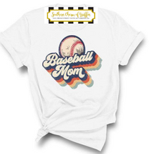 Load image into Gallery viewer, Retro Baseball Mom