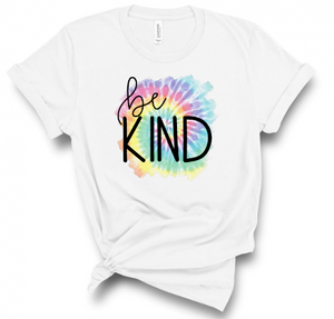 Be Kind Splash of Tie Dye