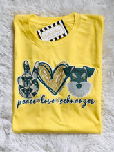 Load image into Gallery viewer, Peace, Love, Schnauzer