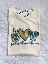 Load image into Gallery viewer, Peace, Love, Boxer
