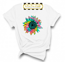 Load image into Gallery viewer, Tie Dye Sunflower