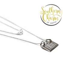 Load image into Gallery viewer, Engraved Bar Necklace