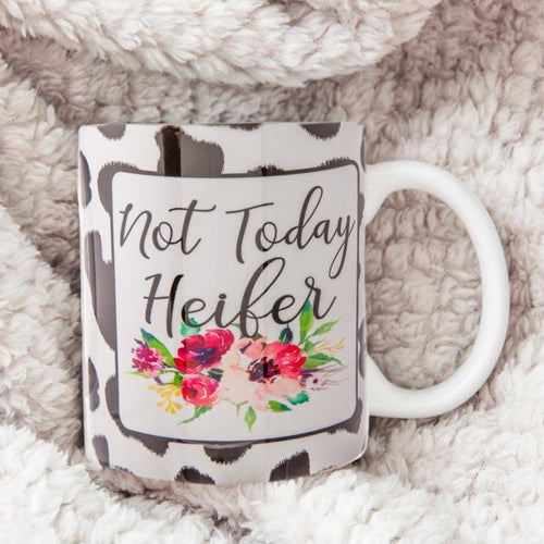 Not Today Heifer Mug