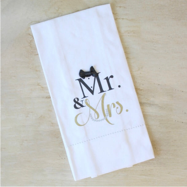 Mr. & Mrs. Hand Towel