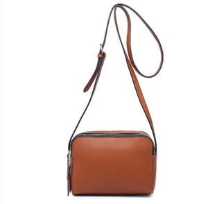 Maci Double Zip Box Crossbody