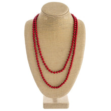 Load image into Gallery viewer, Long Beaded Necklace