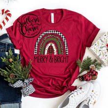Load image into Gallery viewer, Merry & Bright Tee