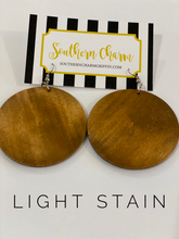 Load image into Gallery viewer, Monogrammed Disk Earrings