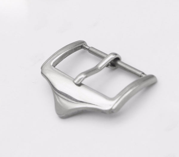Stainless Steel  Silver Polished  Watch Buckle Replacement