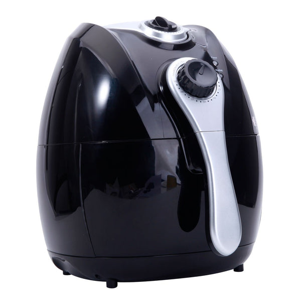 1500W Smart 4.2L Multifunctional Electric Air Fryer with Adjustable Temperature &Time (Black) - Velvet Signature Luxury e-Retail Bar