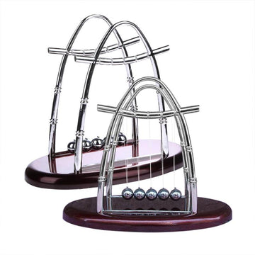 Newtons Cradle Early Fun Development Educational Desk Toy Gift Creative Steel Balance Ball Physics Science Pendulum Miniatures