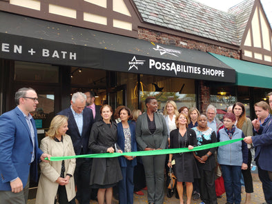 Lt. Governor Susan Bysiewicz and Senator Derek Slap Among the Guests Celebrating SockStarz Ribbon Cutting in West Hartford Center