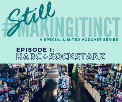 "SockStarz + Harc Featured on Episode 1 of ""STILL Making It In CT"" Vodcast"
