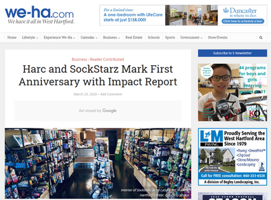 Harc and SockStarz Mark First Anniversary with Impact Report