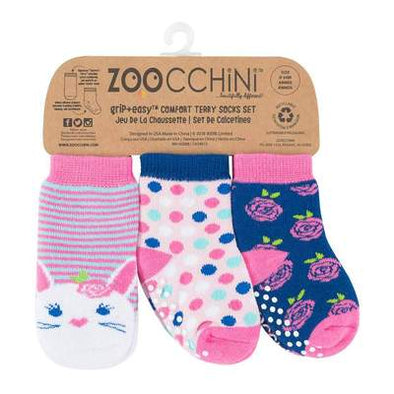 BEATRICE THE BUNNY-3 pc Comfort Terry Socks Set