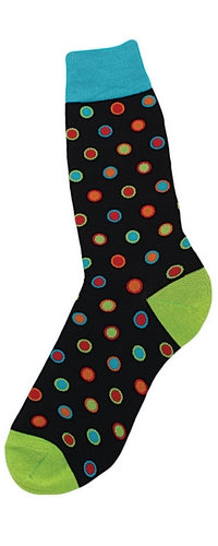 Men's Bright Dot Socks
