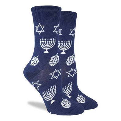 Hanukkah Socks - Women's