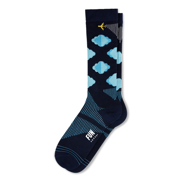 Clouds Compression Socks - Women's