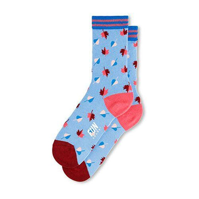 Leaves Crew Socks - Women's