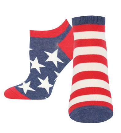 Women's Flag Ped Socks
