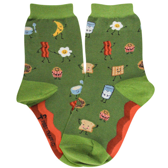Breakfast Socks - Kids