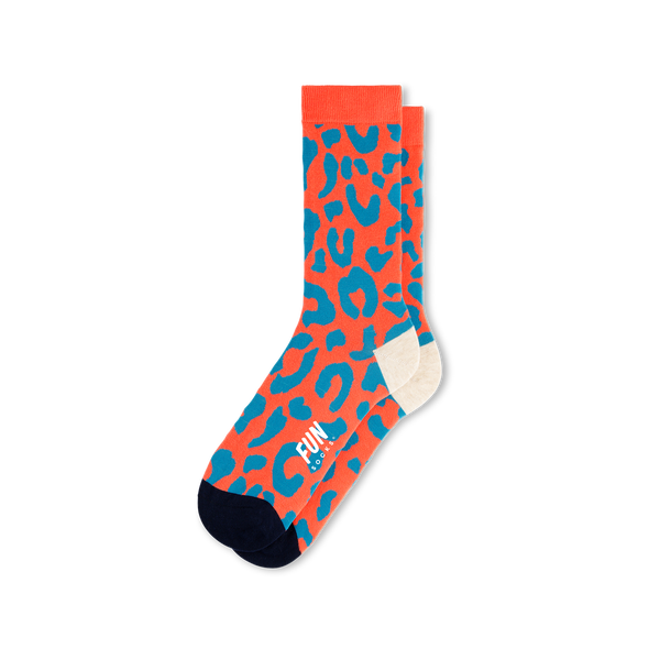 Leopard Crew Socks - Women's