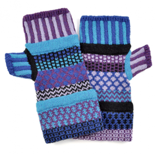 Raspberry Mitten- Fingerless