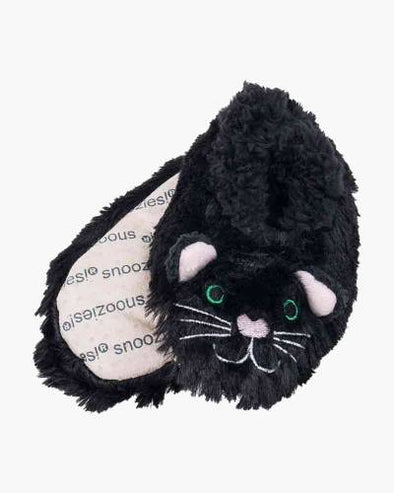 Kid's Furry Foot Pals - Black Cat
