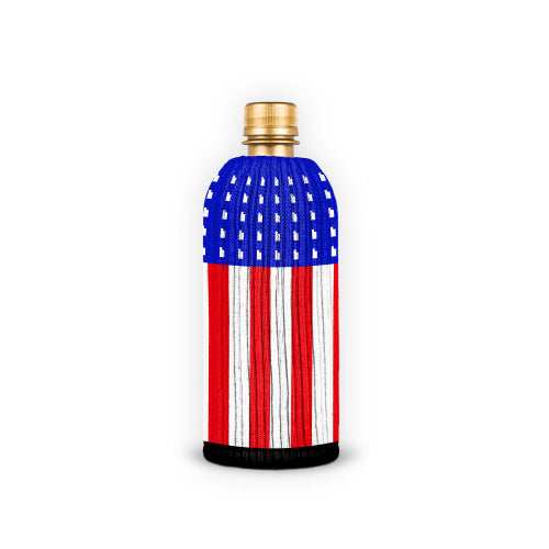 Flag bottle cover