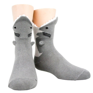 Great White 3D Socks - Youth