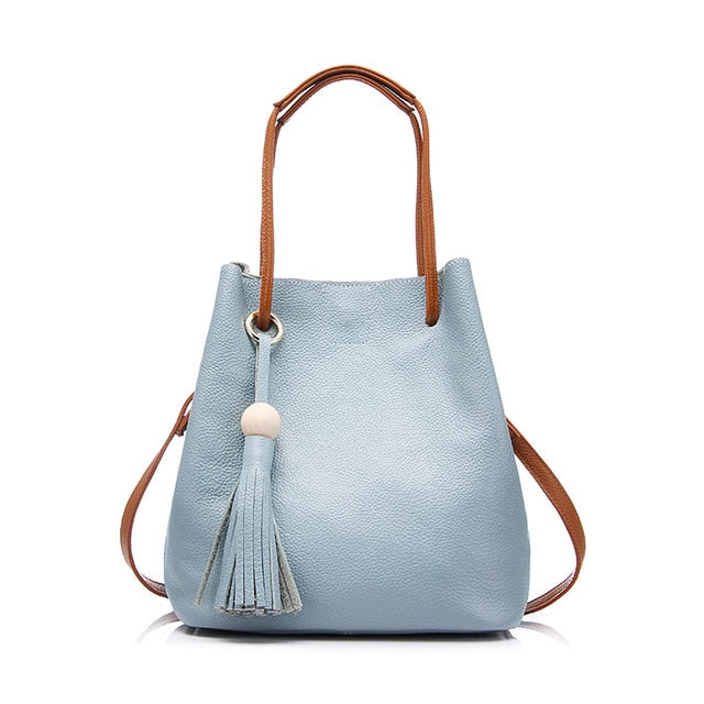 sky blue Ladies Classic  totebag