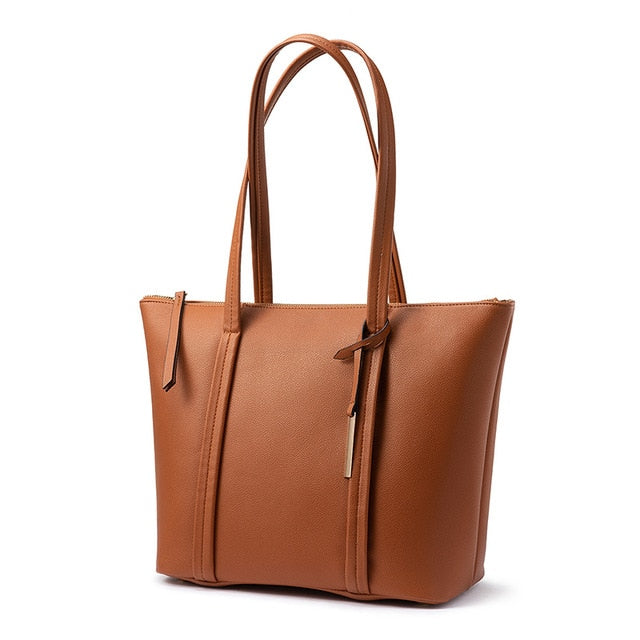 Ladies Casual Tote Bag brown