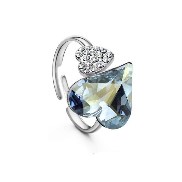Neoglory Austria Crystal Adjustable Ring-Hykoshop