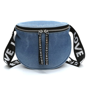 Denim  Clutch Bags