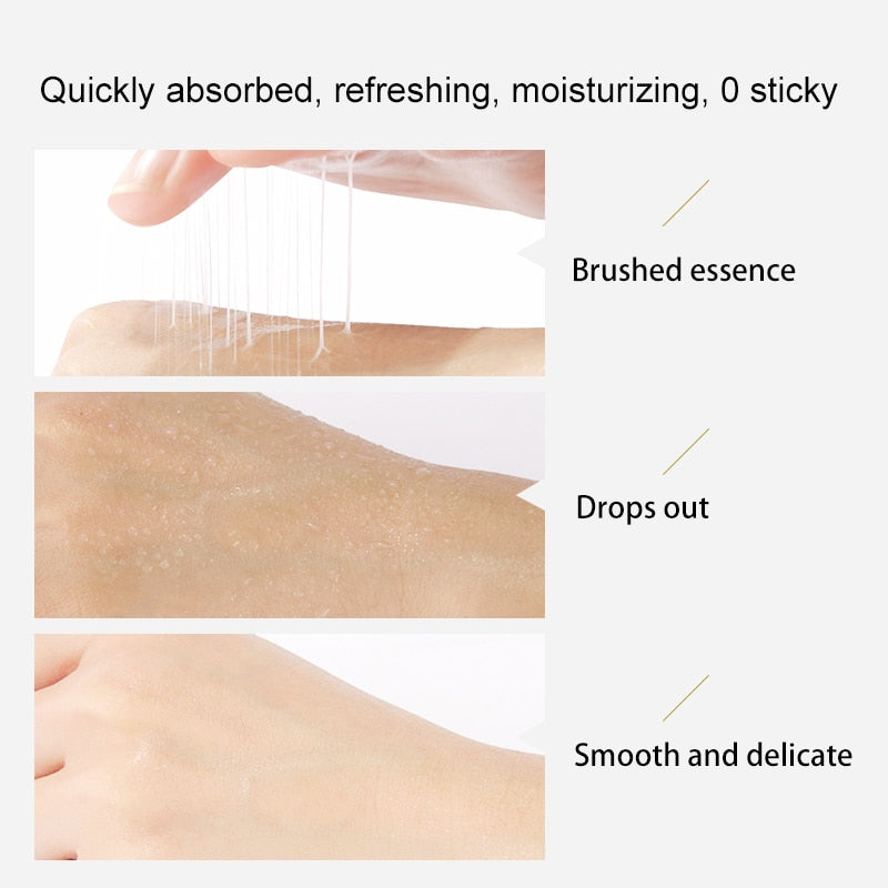 Fonce Brushed Collagen Facial Lotion Moisturizing Hydrating Brightening Complexion Lifting Firming Serum Body Milk 100g