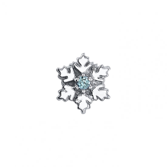 BVLA Gold Snowflake Genuine Diamond jewellery