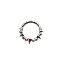 Auris Cerberus Spiked Ring