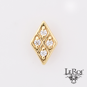 Leroi Gold Diamond 4 Stone