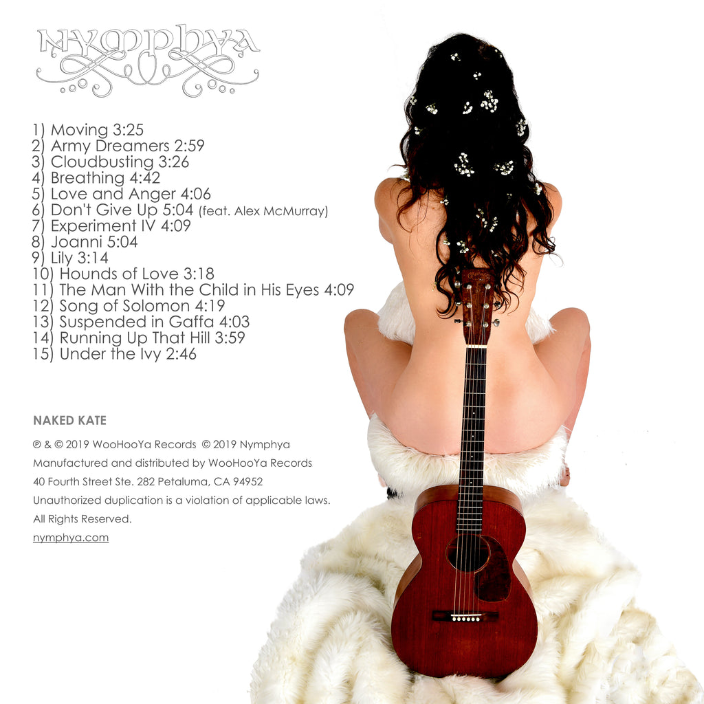 """NAKED KATE"" + ""DREAM DANCE"" HI RES DIGITAL, 320 kbps Download Bundle - The Nymphya Shop"