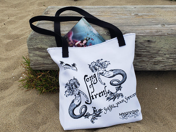 "Signed Album and ""Song of Sirens"" Tote Bundle! (+ free download) - The Nymphya Shop"