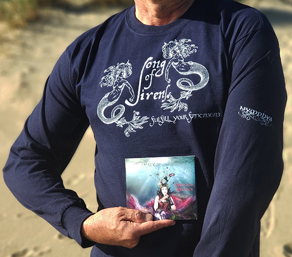 "Signed Album and Mens' ""Song of Sirens"" T Shirt Bundle! (+ free download)"
