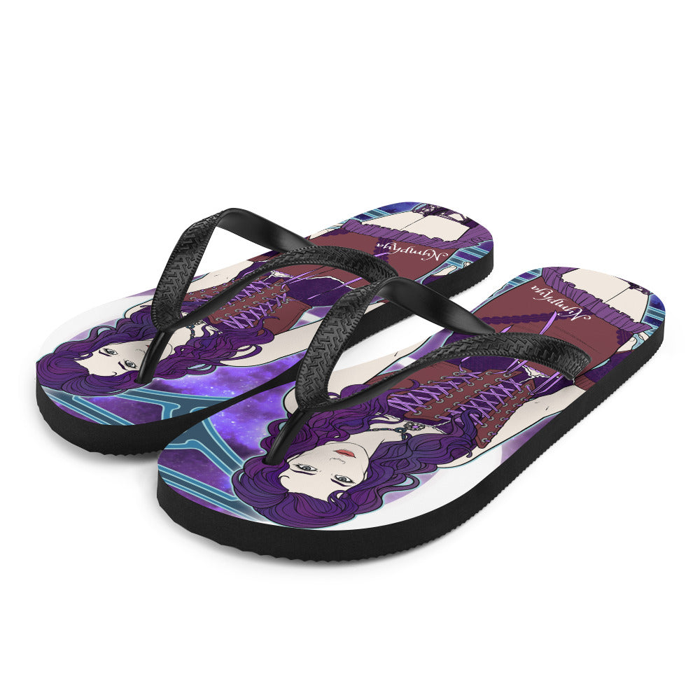 🌴 Nymphya Nouveau Flip-Flops 🌴 - The Nymphya Shop