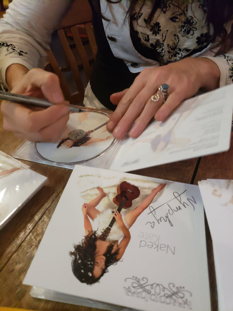 NAKED KATE SIGNED CD - Deluxe, Limited Edition Digipak + Signed 4 x 6 art card - The Nymphya Shop