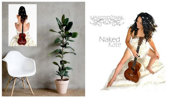 "12"" x 16"" Matte Poster and NAKED KATE Digital Download - The Nymphya Shop"