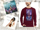 3 PACK ~ SUPER MUSIC BUNDLE: Long Sleeve 100% Cotton MUSIC is MAGIC Tee & 2 Signed CDs - The Nymphya Shop