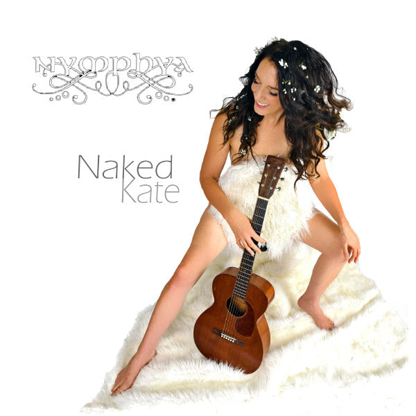 "NAKED KATE POSTER BUNDLE: 24 x 36 Glossy Poster + Signed Digipak CD + 4""x 6"" art card"