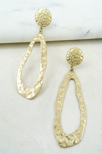 Hammered-Earrings